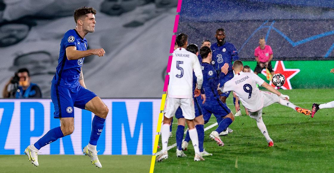 Aquí están los goles del empate entre Real Madrid y Chelsea en la Champions League
