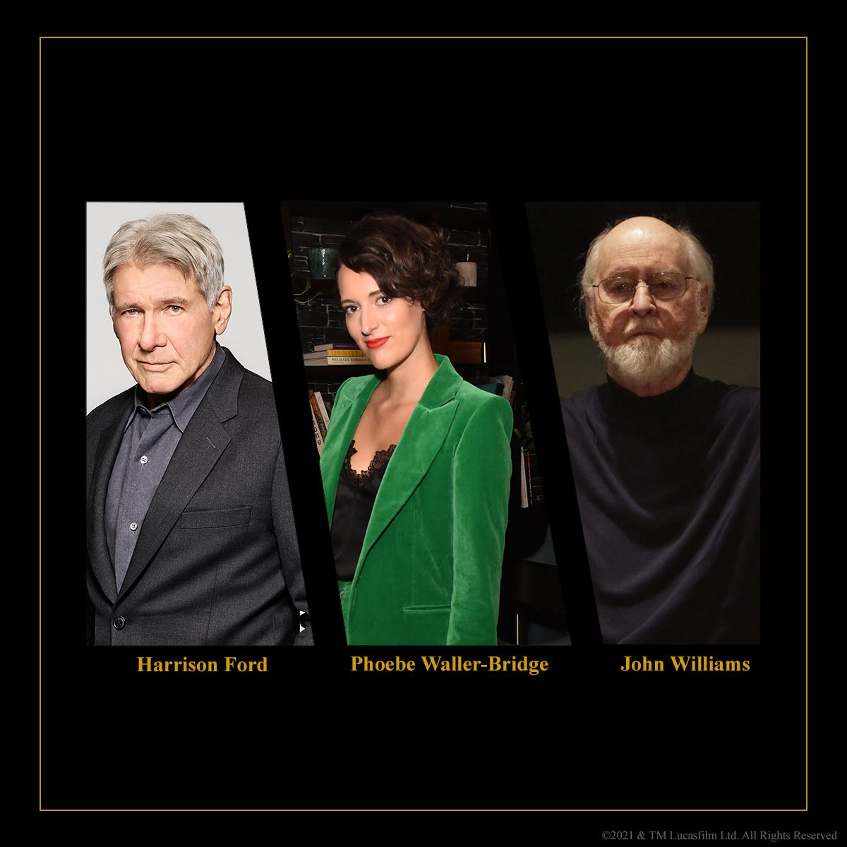 Phoebe Waller-Bridge y John Williams se unen a la nueva cinta de Indiana Jones