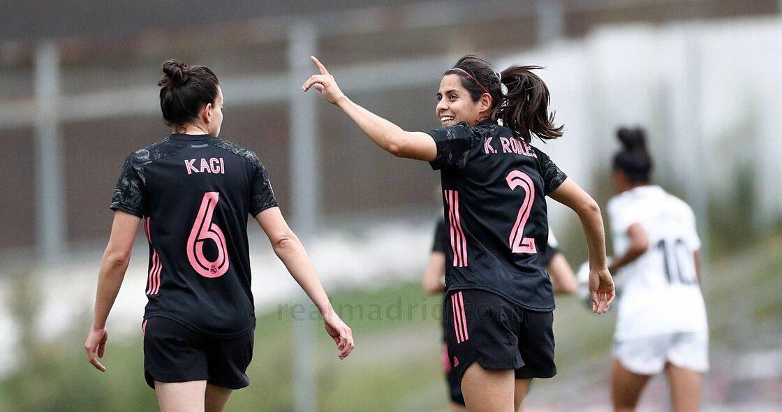 ¡Una joya! Así fue el primer gol de la mexicana Kenti Robles con el Real Madrid