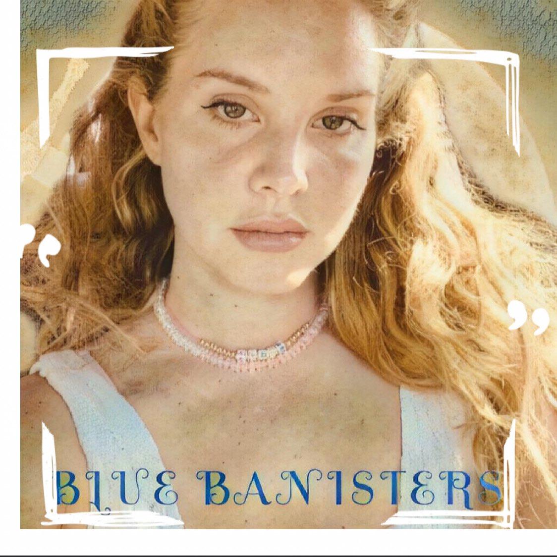 Lana Del Rey revela la fecha de estreno de su nuevo disco, 'Blue Banisters'