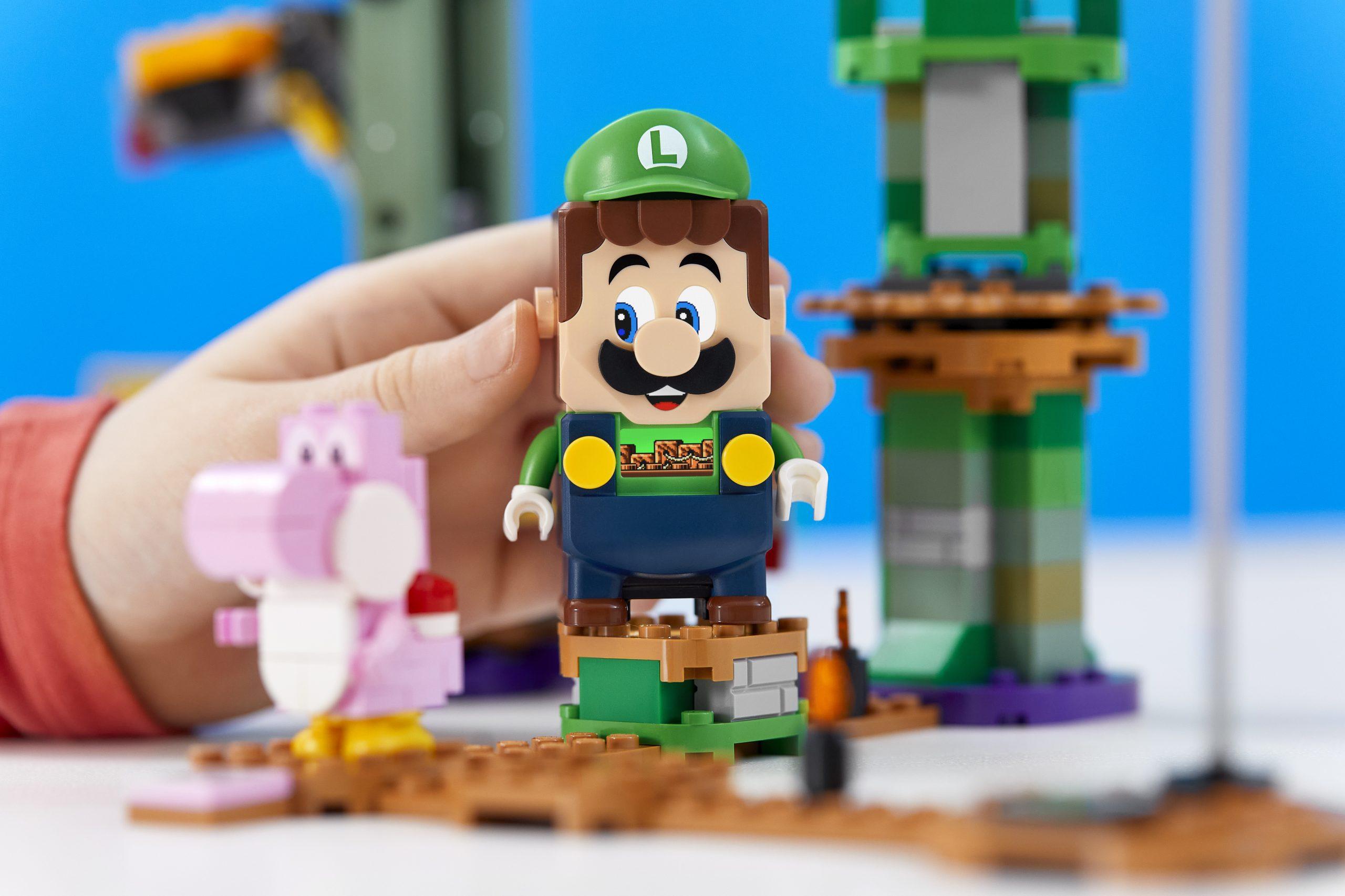 LEGO lanzará un nuevo set de Super Mario Adventures inspirado en Luigi