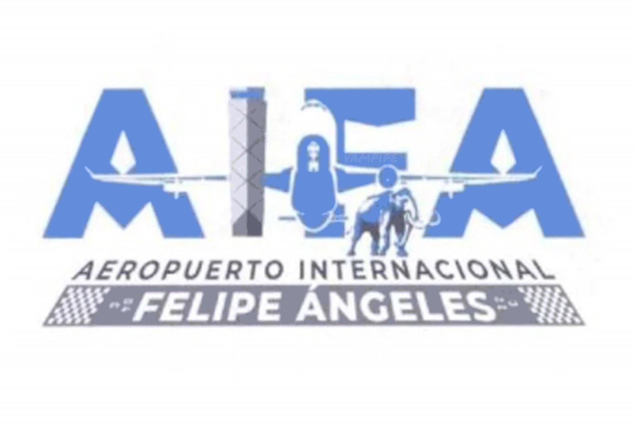 Critican al Gobierno Federal por el logo del aeropuerto de Santa Lucía
