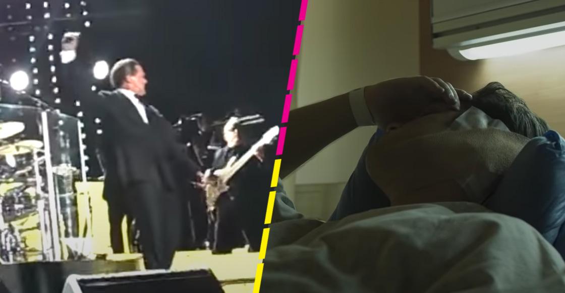 ¿Realmente Luis Miguel tuvo un accidente en un concierto que le dañó el oído?