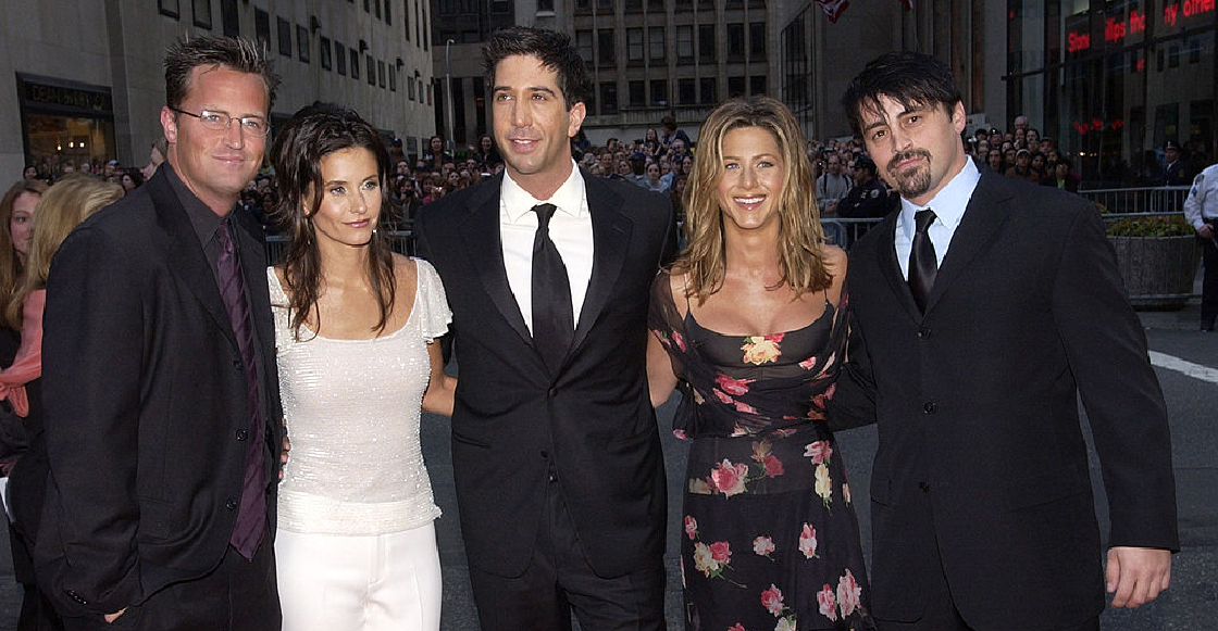 Matthew Perry revela (sin querer) que ya andan grabando la esperada reunión de 'Friends'