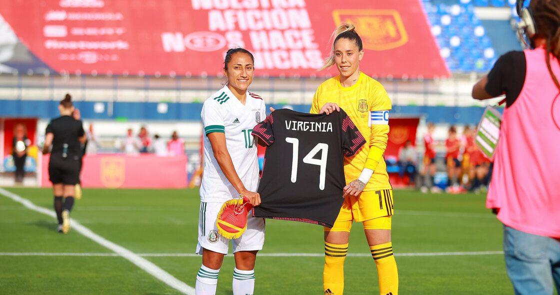 Los goles con los que España venció a la Selección Mexicana Femenil