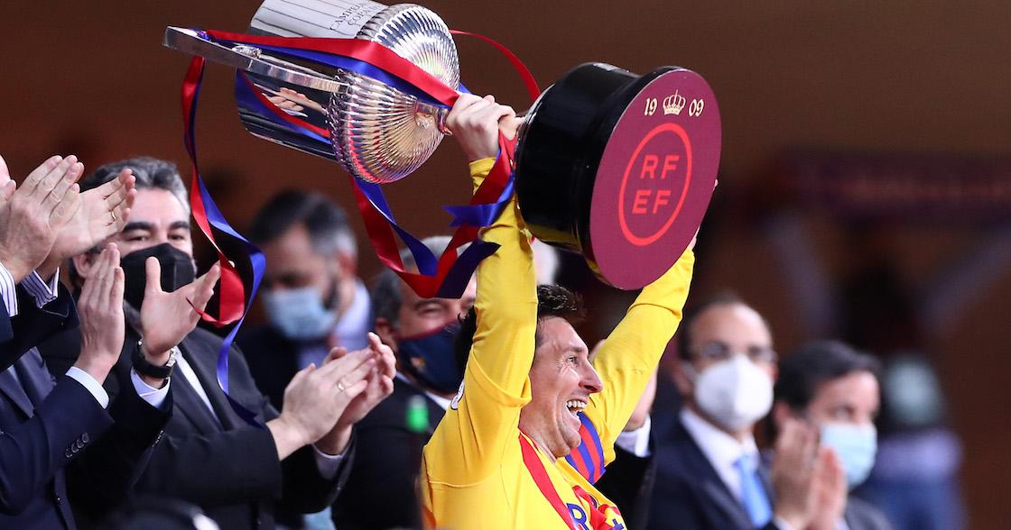 Cuatro goles en 11 minutos: Así se coronó Barcelona en la Copa del Rey ante el Athletic