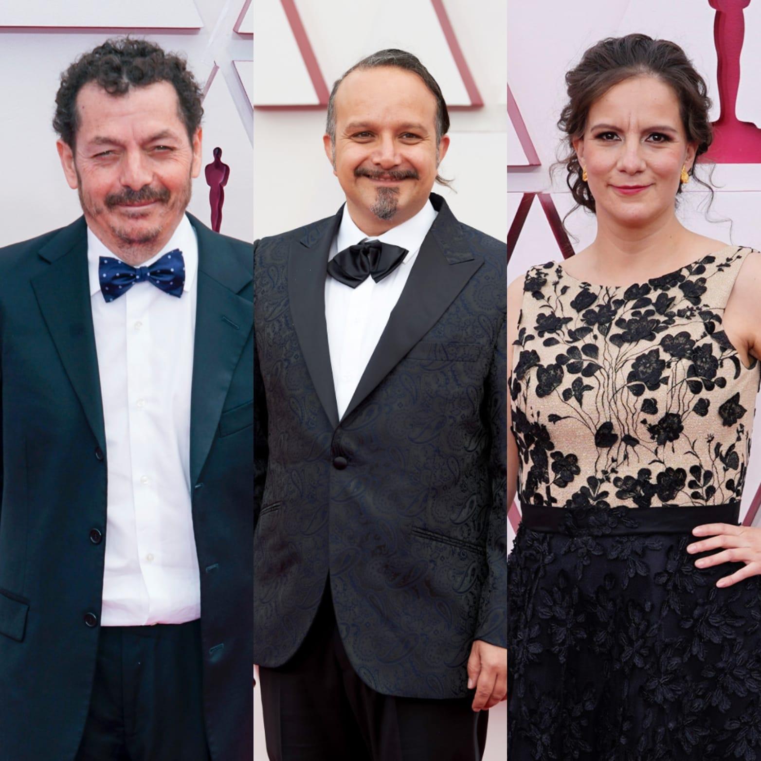 Jaime Baksht, Carlos Cortés y Michelle Couttolenc