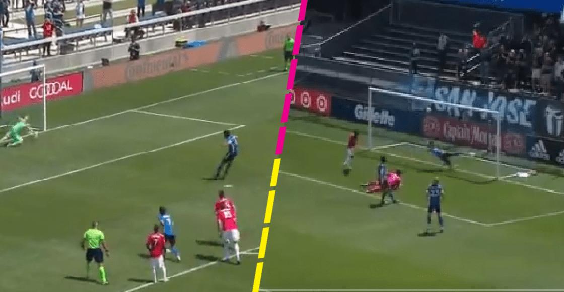 El gol de Oswaldo Alanis y la salvada de Carlos Fierro en el triunfo del San José Earthquakes