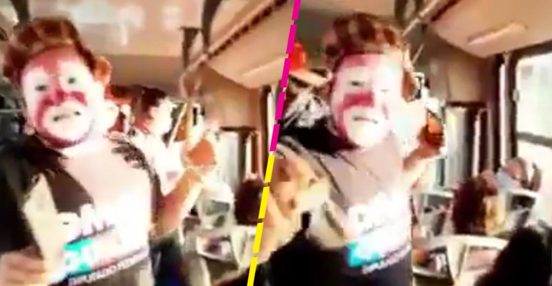 Balacera en Sonora interrumpe show de payasos en el transporte público