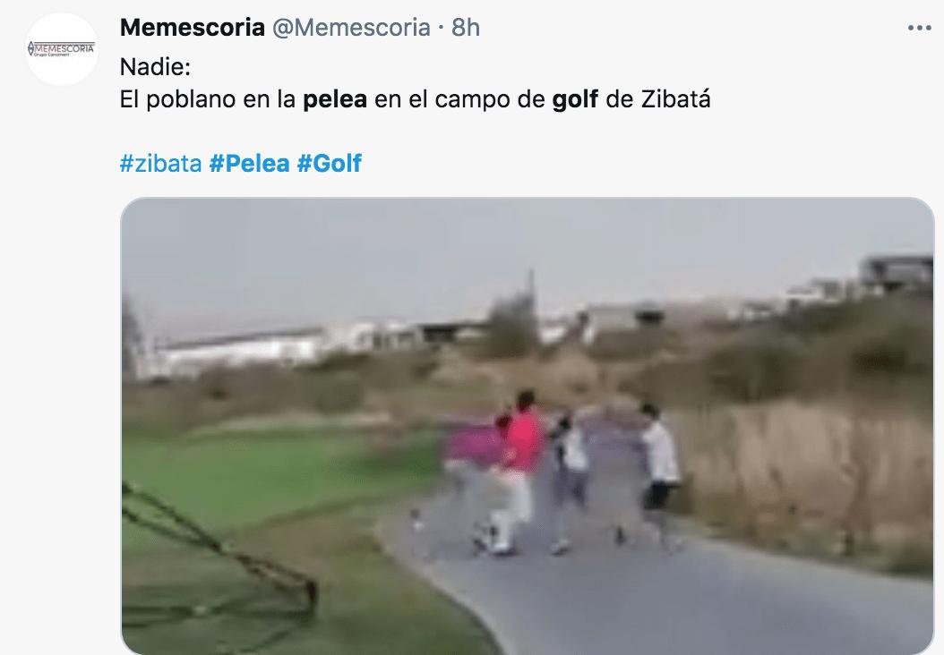 Mirreyes contra mirreyes: Pelea campal en campo de golf de Querétaro se hace viral