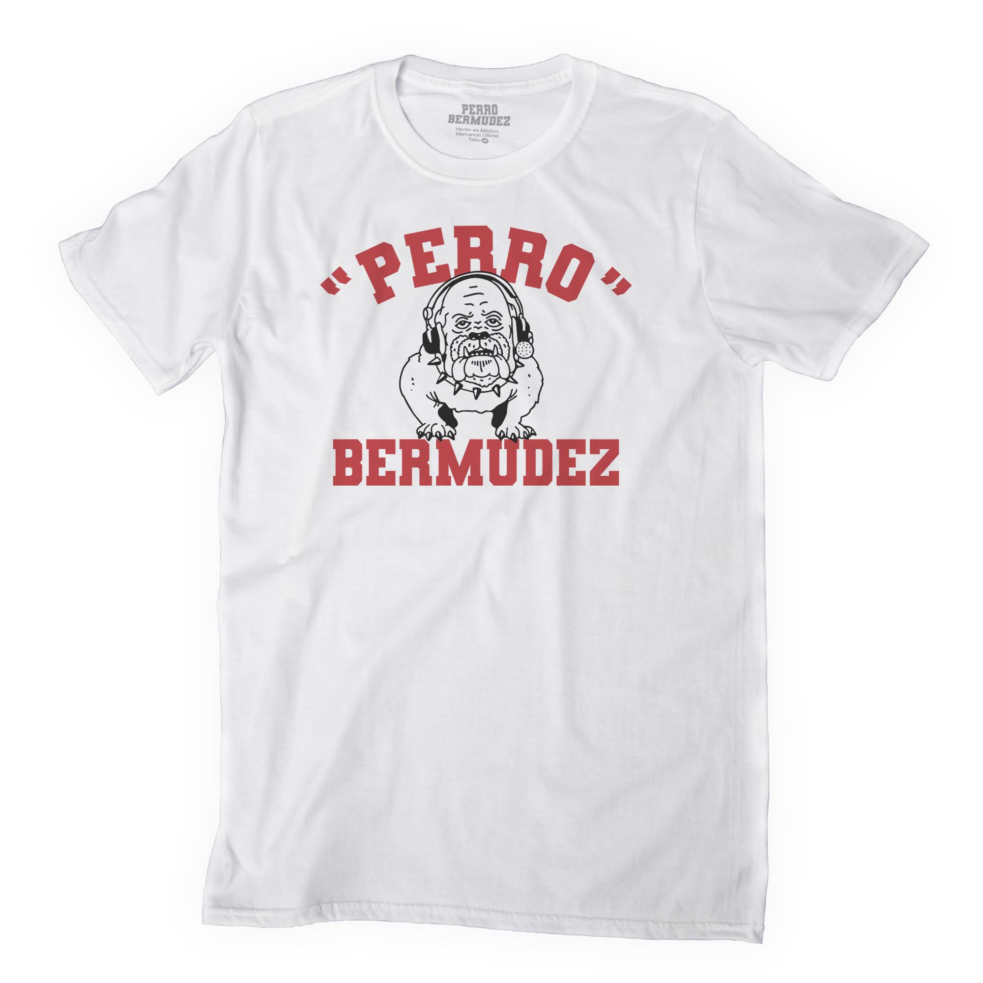 ¡Zambombazeee! El 'Perro' Bermúdez presenta su colección de playeras