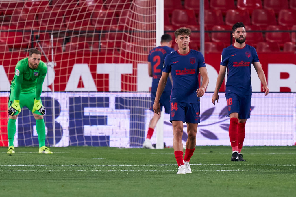 Atlético de Madrid derrota contra Sevilla