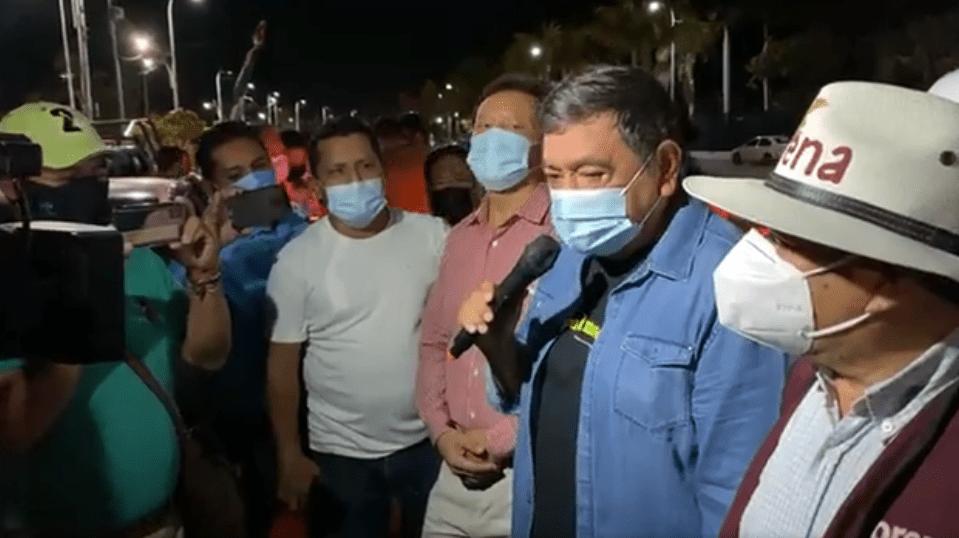 Salgado Macedonio arma caravana hacia CDMX para protestar frente al INE