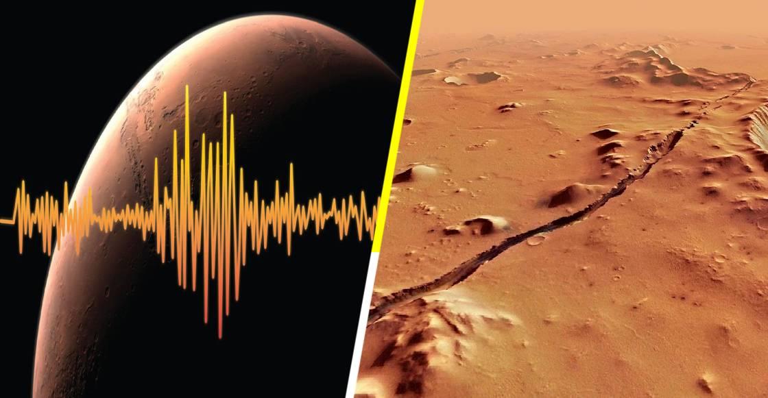NASA detecta sismos de intensidad 'considerable' en Marte