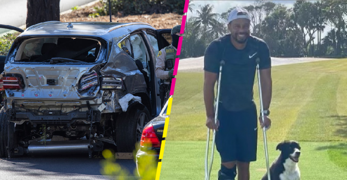 "Tiger Woods reaparece ""de pie"" dos meses después del accidente"
