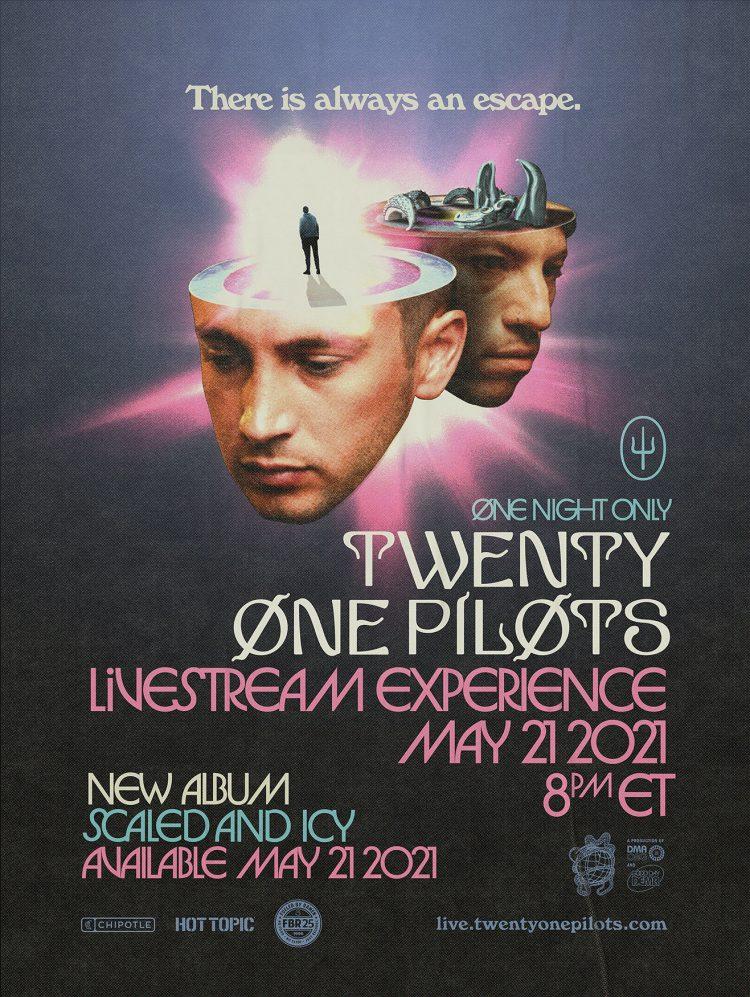 Twenty One Pilots vuelve con 'Scaled And Icy', su nuevo álbum