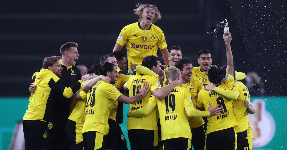 ¡Borussia Dortmund, Campeón! Los dobletes de Haaland y Sancho que dejan sin copa a Nagelsmann