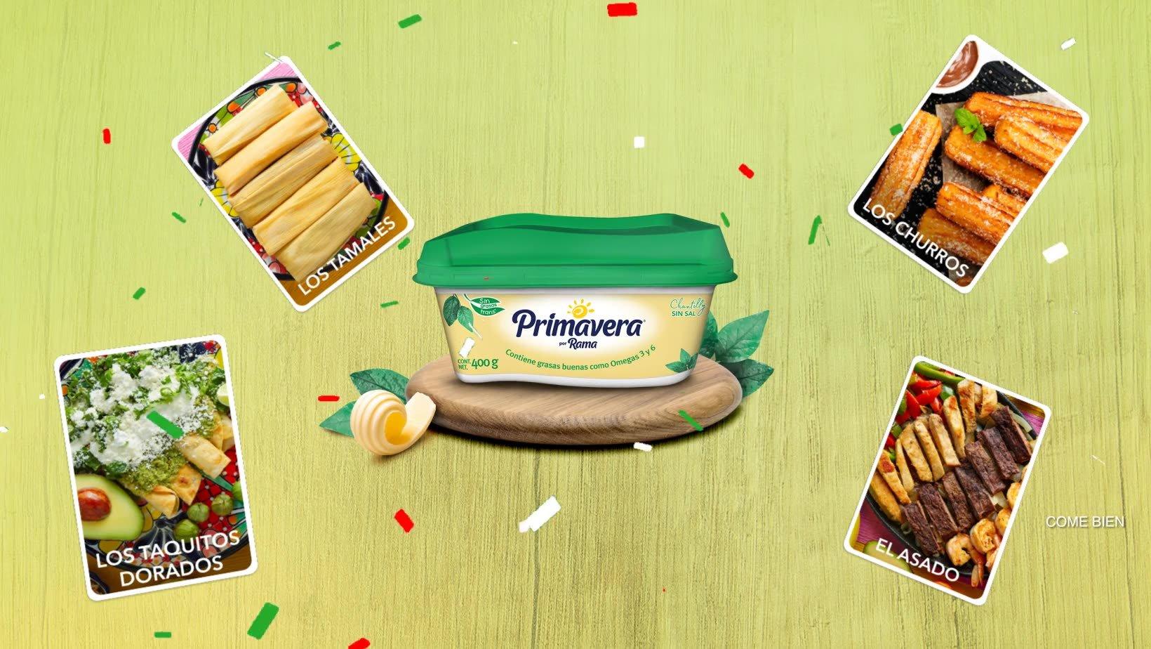 Acá te decimos lo que puedes ganar con Margarina Primavera