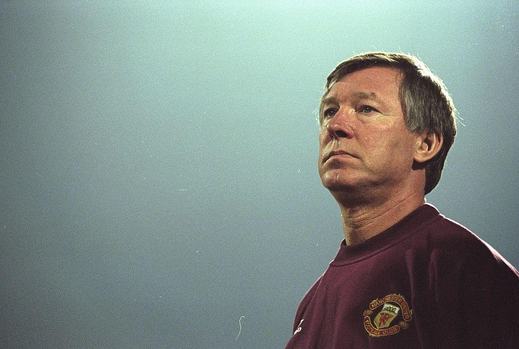 Alex Ferguson DT del Manchester United