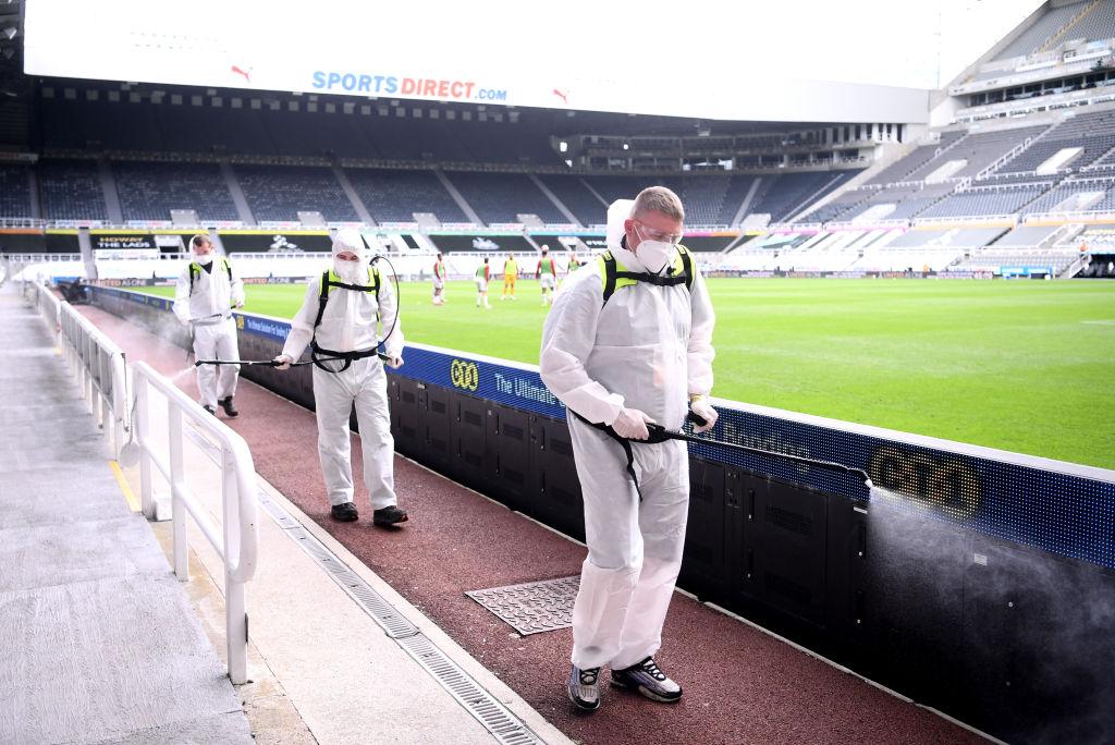 Medidas de protección en la Premier League COVID-19