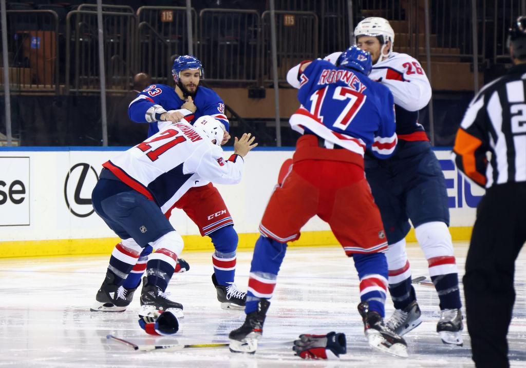 Rangers vs Capitals NHL