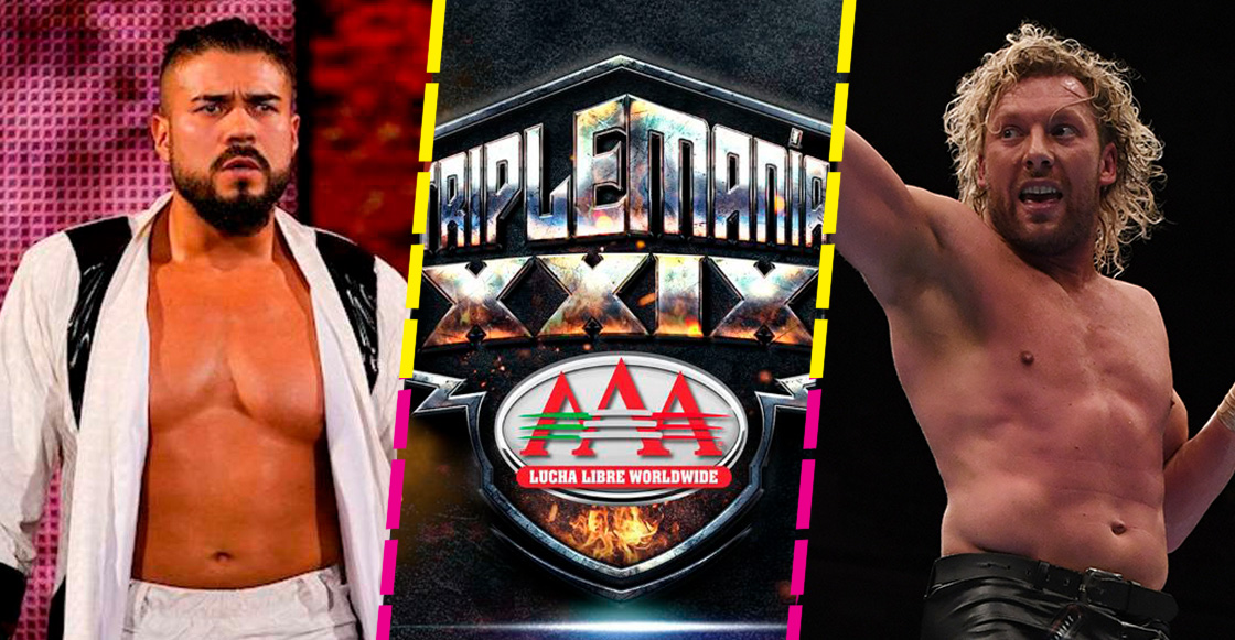 ¡Regresa Andrade, el ídolo! Enfrentará a Kenny Omega en Triplemania 29