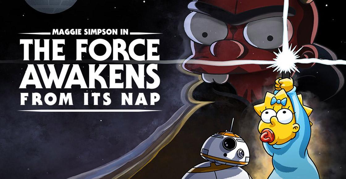 Crossover épico: Acá te contamos cómo ver el corto especial de 'Los Simpson' y 'Star Wars'