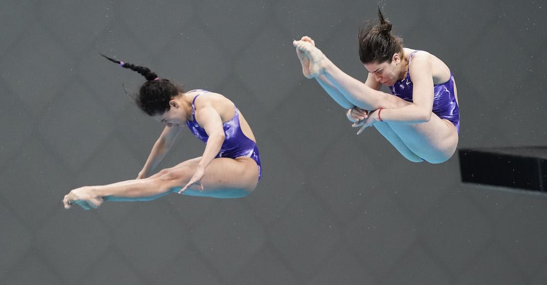 Alejandra Orozco y Gaby Agundez logran plaza olímpica con mucho drama