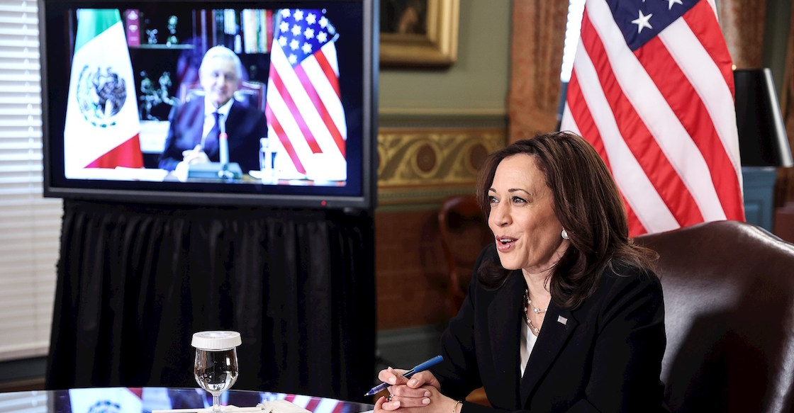 The Amlo-kamala-Harris meeting may be summarized on May 7th, and the issue date of the discussion they said is migrated 02