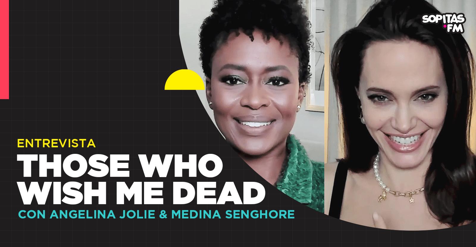 Una entrevista con Angelina Jolie por 'Those Who Wish Me Dead'