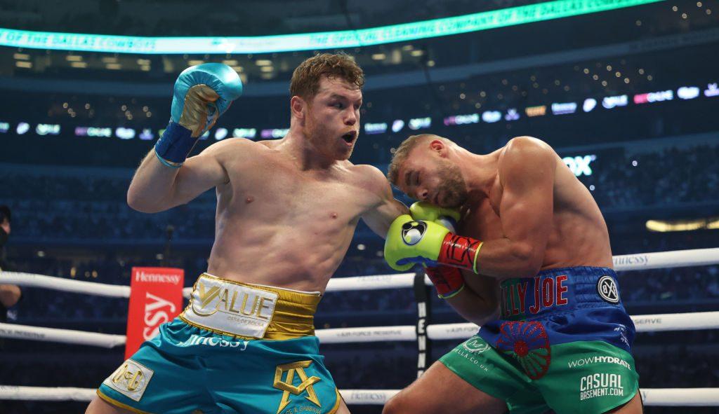 Billy Joe Saunders, con múltiples fracturas tras la pelea con 'Canelo' Álvarez