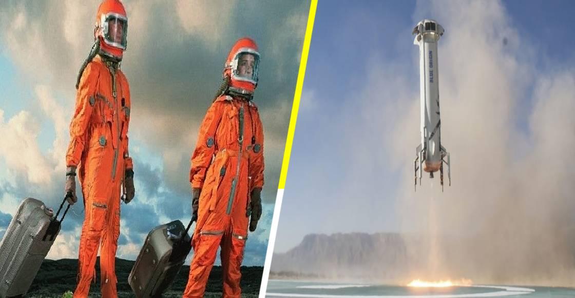 'Blue Origin' subastará el primer boleto turístico para ir al espacio en julio