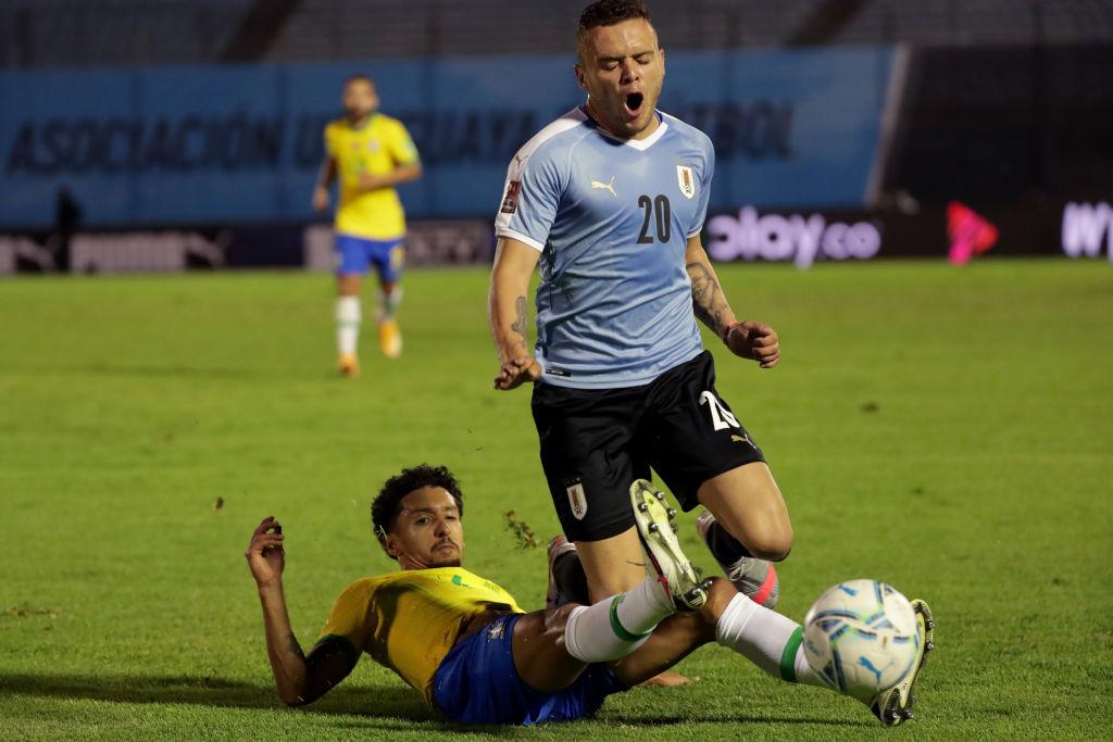 Cabecita Rodríguez con Uruguay