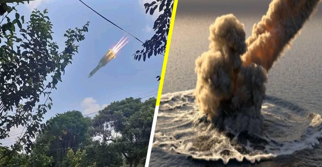 ¡Kaput! El Cohete chino 'CZ-5B' cayó en el Océano Índico