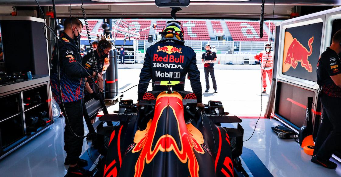 Checo Pérez se responsabiliza por el quinto lugar en el GP de España; revela que desperdició tiempo detrás de Daniel Ricciardo