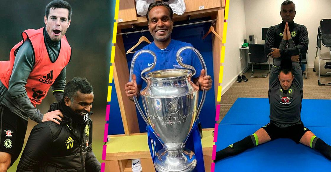 Vinay Menon y el yoga, armas secretas del Chelsea para ganar la Champions League