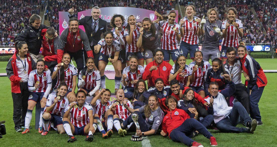 ¿Qué jugadoras de Chivas Femenil sobreviven del título del Apertura 2017?