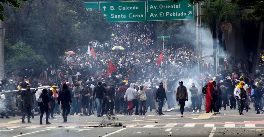 Colombian protests died