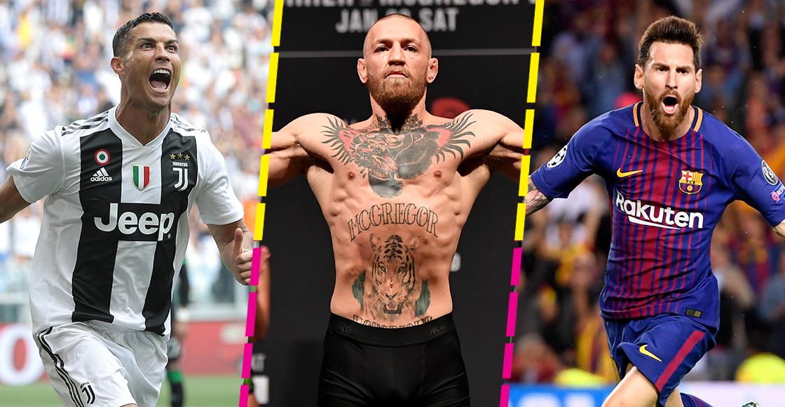 ¡A un lado, Messi y Cristiano! McGregor es el deportista mejor pagado del mundo