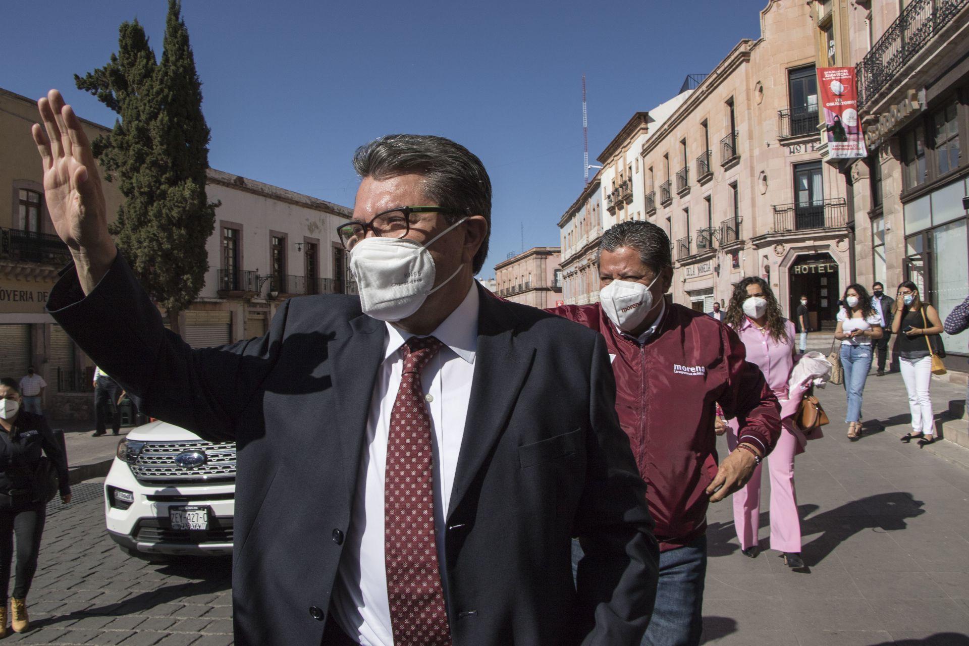 Candidato de Morena 'destapa' a Ricardo Monreal como presidenciable para 2024