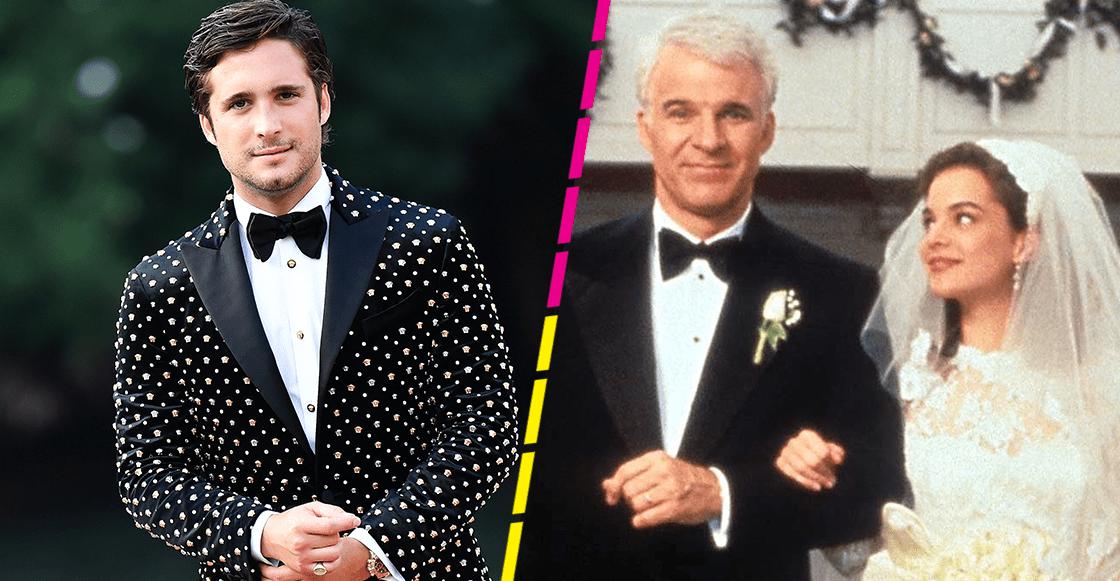 ¡Diego Boneta se une a Andy García en el remake de 'El padre de la novia'!