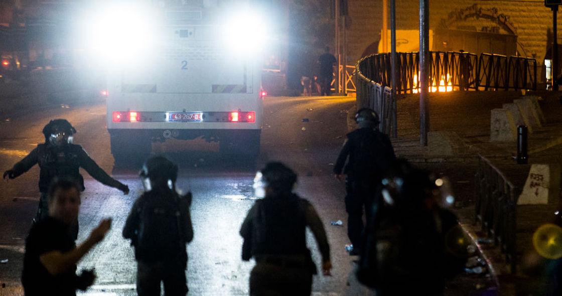 Jerusalem-police clashes