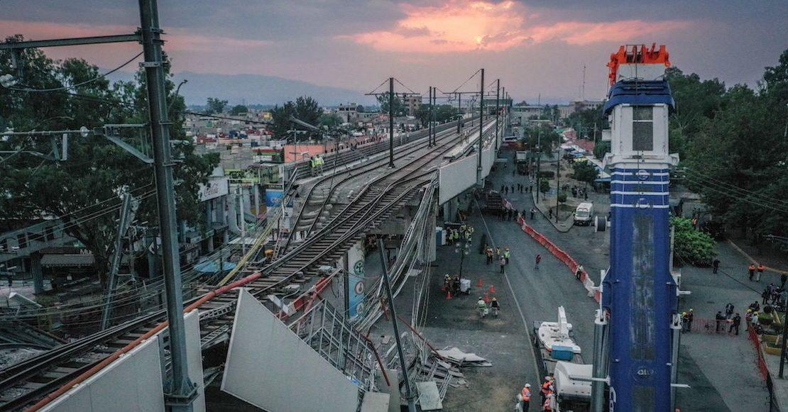 Familiares de víctimas del colapso en Línea 12 presentan denuncia colectiva ante la FGR
