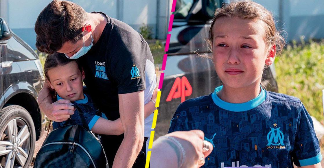 Maha, la fan número uno de Florian Thauvin que llora su salida del Olympique