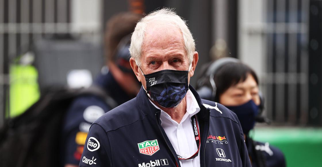 Helmut Marko lanza pedrada en Red Bull con Checo