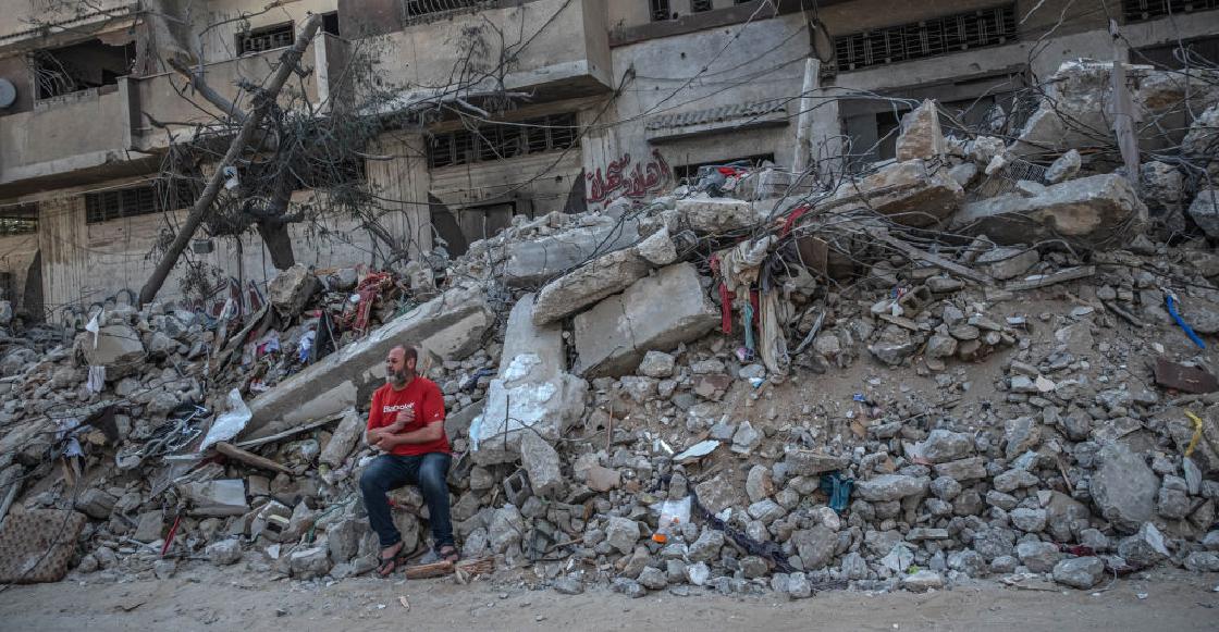 Israel bombardea edificio de prensa en Gaza