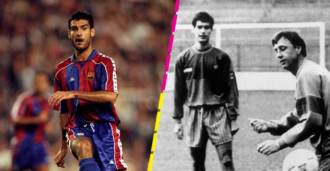 El alumno aplicado de Cruyff: Así era Josep Guardiola como jugador