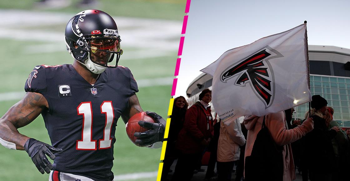 """Julio Jones rompe relaciones con los Falcons: """"Estoy fuera del equipo"""""""
