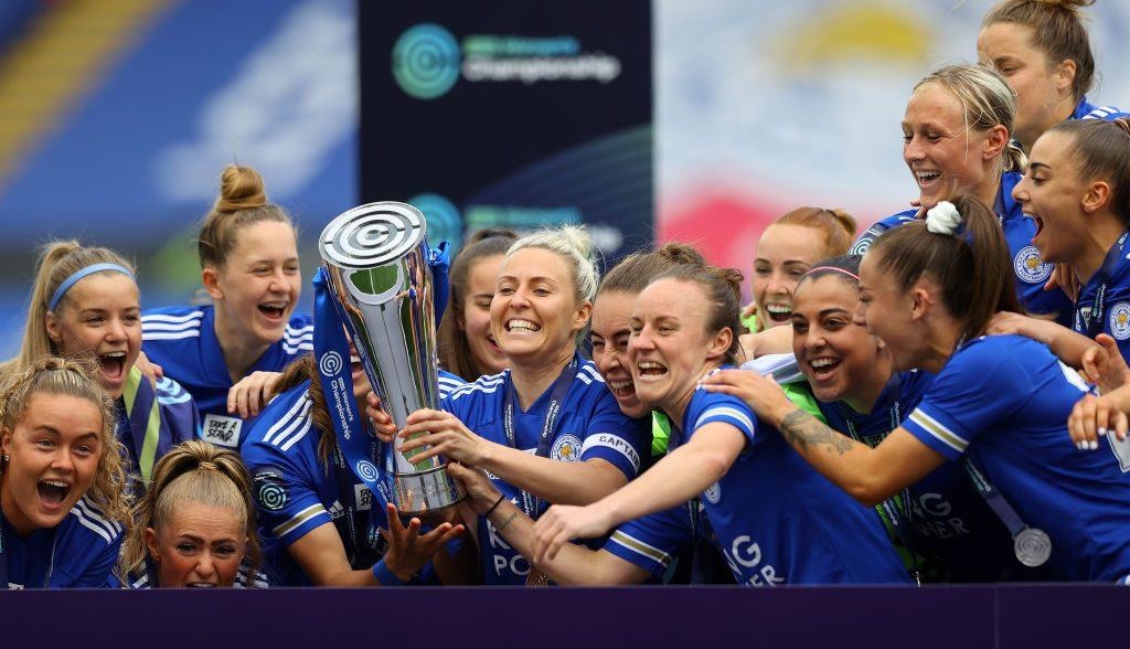 Leicester Femenil celebró el ascenso a la WSL con su primer partido en el King Power Stadium
