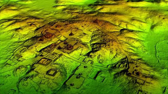 Tecnología láser conocida como LIDAR